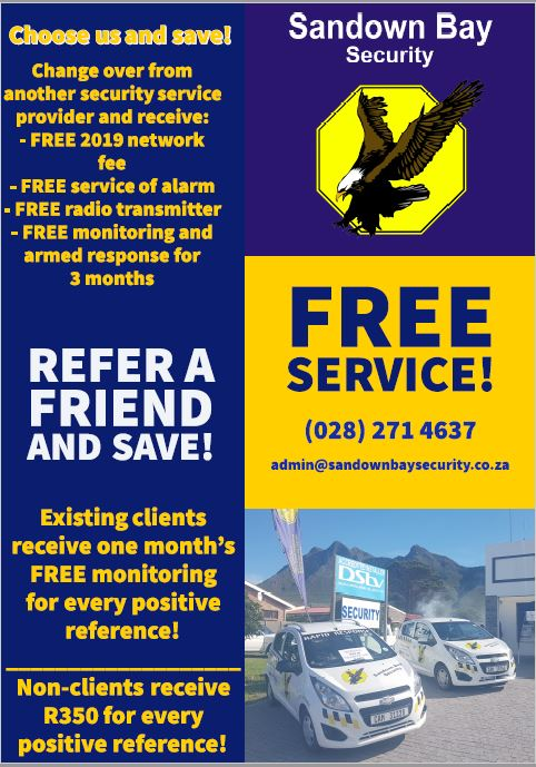 Choose us and save! Change over from another security service provider, and SAVE!  Refer a friend and SAVE!